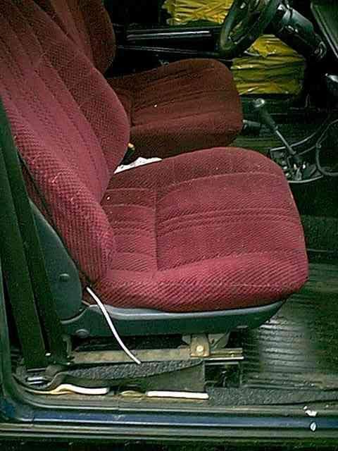 каретка сиденья кресел audi 80 90